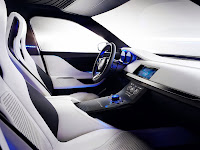 Jaguar Sports Crossover Concept vehicle interior