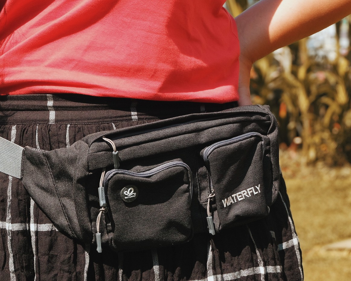 waist bag waterfly