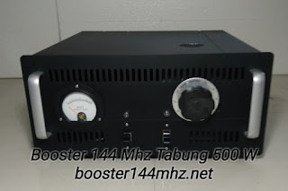 Booster 144 Mhz Tabung 500 W Lengkap dengan Power Supply