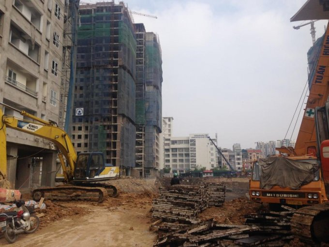 Cập nhật tiến độ thi công dự án chung cư A10 Nam Trung Yên