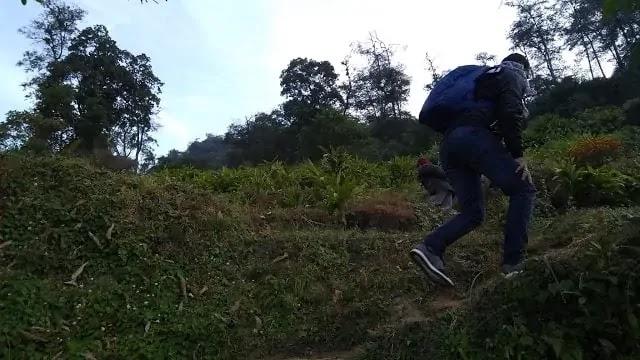 Trekking at Icchey Gaon