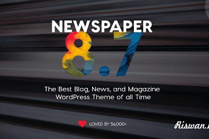 Free Download Newspaper V 8.7.2 Original Theme