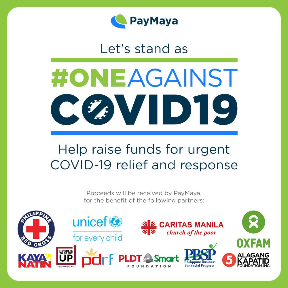 paymaya against covid19 pandemic