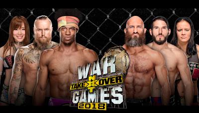 Ver WWE NXT TakeOver: WarGames 2018 En vivo En Español Online