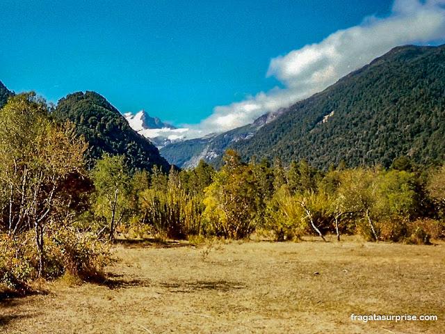 vale do Rio Peulla e o Cerro Tronador, Chile