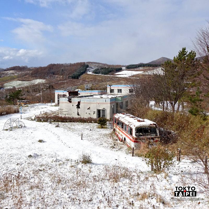 【西山山麓火口散策路】走入被火山襲擊的道路和幼稚園 時間凍結比災難片還真實