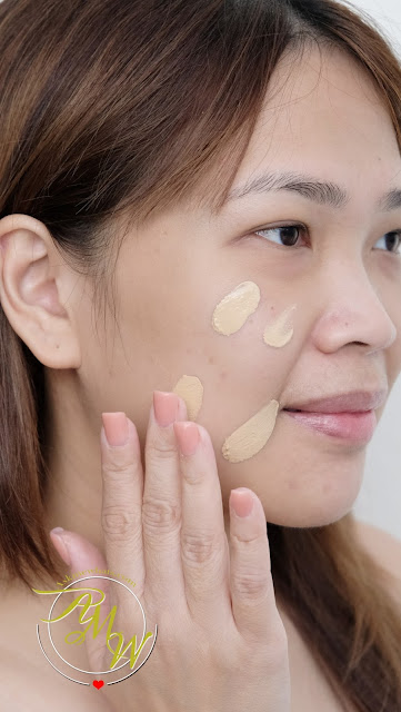 a photo of  Flormar HD Invisible Cover Foundation Review by Nikki Tiu www.askmewhats.com