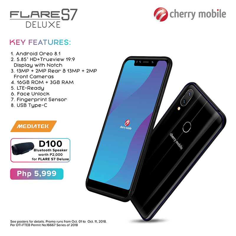 Specs of Flare S7 Deluxe