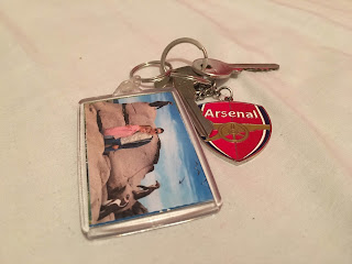 Arsenal, keyring, boyfriend, girlfriend