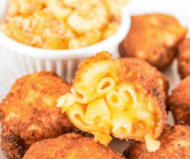 Savory Fried Mac And Cheese Bites