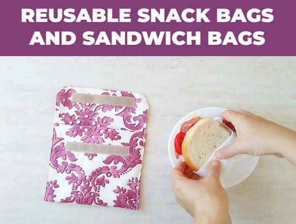 DIY Reusable Sandwich Bags