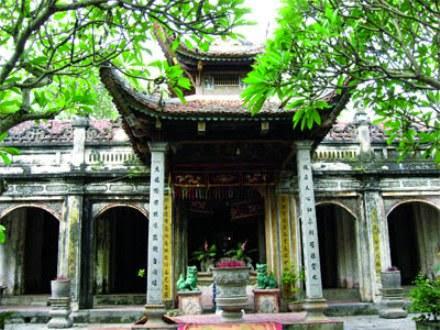 du lịch ba vì - đền thượng - Minh Anh travel