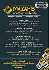 Mazahib Jurnal Pemikiran Hukum Islam