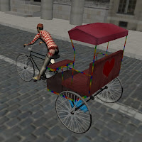 Bicycle driving game