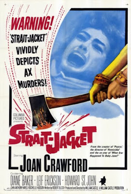 Strait-Jacket (1964) Joan Crawford, psycho-biddy, hag horror