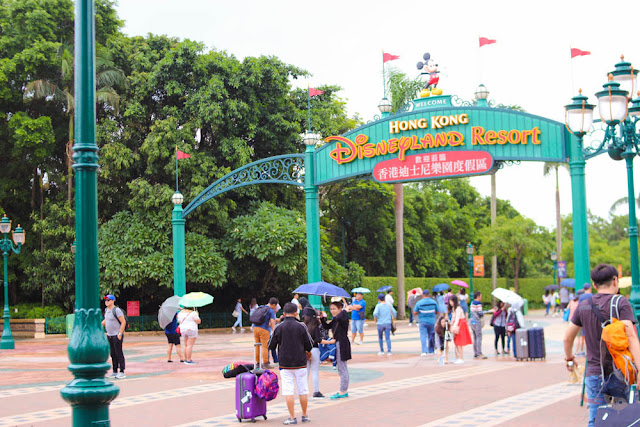 Hong Kong Disneyland Resort Line