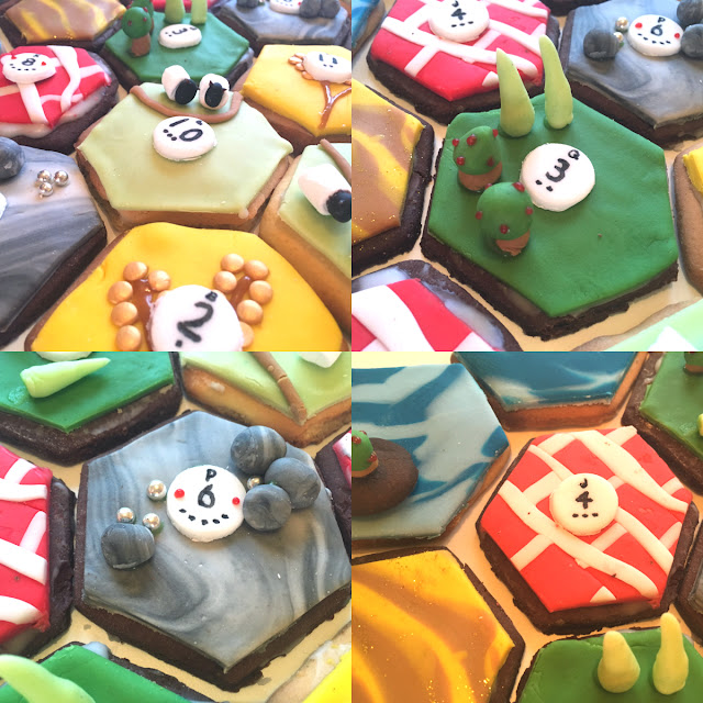 Cookies of Catan edible Settlers of Catan playing board how to