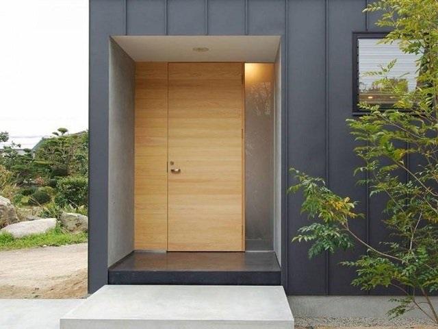 model pintu minimalis 2 pintu besar kecil