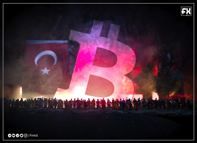 الرئيس التركي يقول إن الحكومة التركية في حرب مع العملات المشفرة