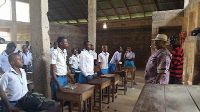 Chief David Onuoha (Bourdex) visits 6 schools in Abia North