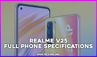 Realme V25 - FULL PHONE SPECIFICATIONS