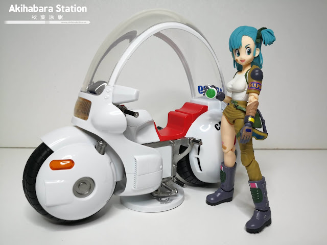 S.H.Figuarts BULMA's Motorcycle HoiPoi Capsule #9 - de Dragon Ball - Tamashii Nations