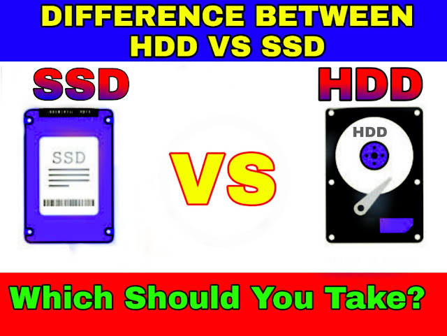 What is difference between HDD vs SSD