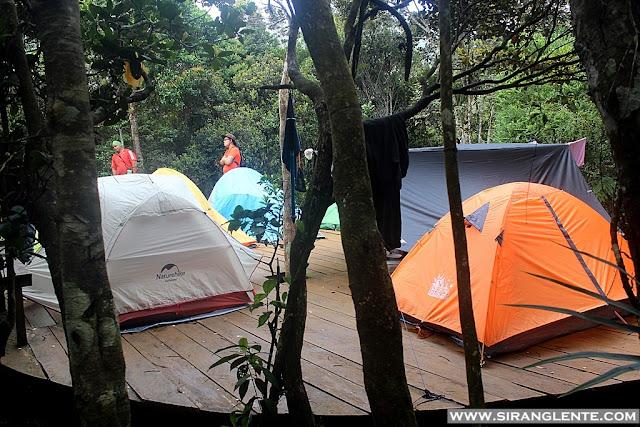 Mt. Hamiguitan campsite