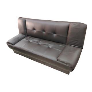หรูหรา นั่งสบาย ENZIO โซฟาปรับนอน 3 ที่นั่ง หุ้มหนังอย่างดี คละแบบ