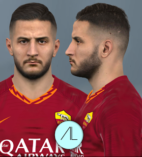 PES 2017 Faces Kostas Manolas by Alief