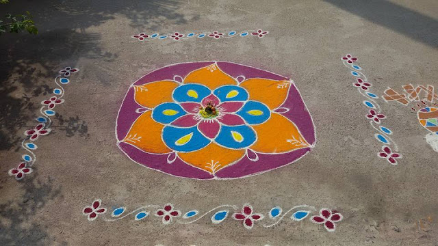 Rangoli Design for Pongal 36