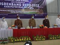 Bupati Hilarius Duha Pimpin Musrenbang RKPD Tahun 2022