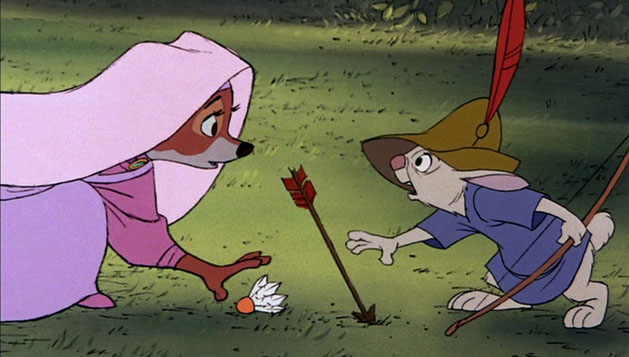 Skippy Maid Marian Robin Hood 1973 animatedfilmreviews.filminspector.com