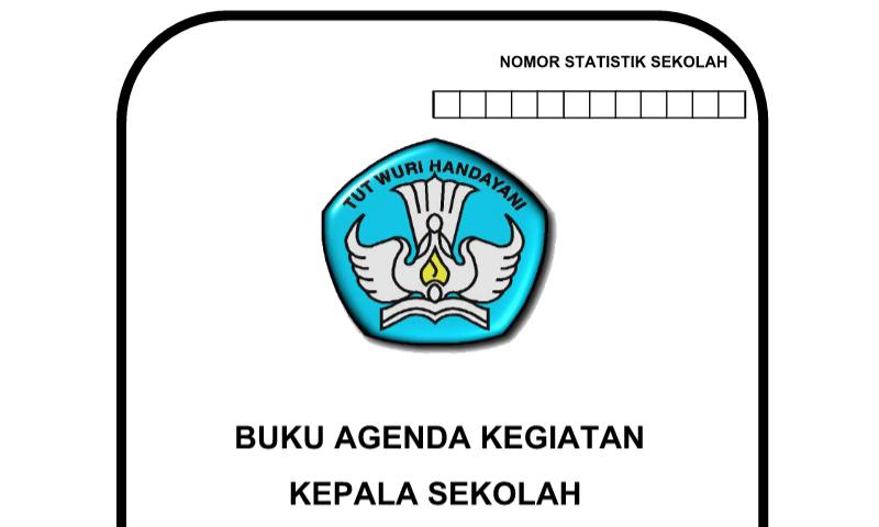 Agenda Kegiatan KeContoh Format Sekolah Perangkat Administrasi Tata UsahaSekolah (TU)
