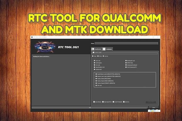 RTC Tool Quallcom and MTK Crack Working OppoRealme