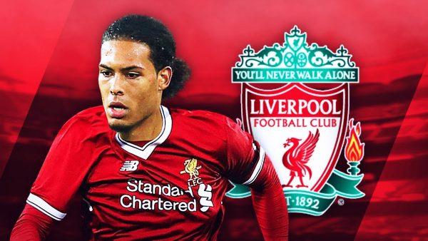 Liverpool Pecahkan Rekor,  Dengan Mendatangkan Bek Virgil Van Dijk