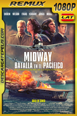 Midway: Batalla en el Pacífico (2019) 1080p BDRemux Latino – Ingles