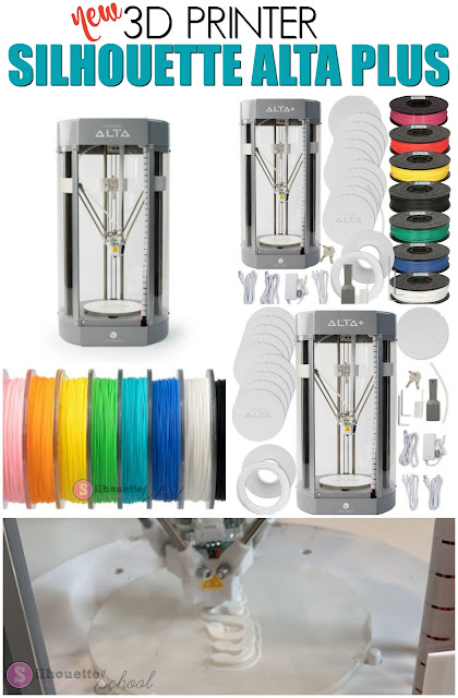 3D Printer, Alta Plus, Alta Printer, Silhouette 101, Silhouette America Blog