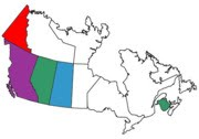 Canadian Provinces visited in RV