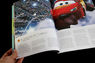 pixar birth movies death magazine defense of cars 2