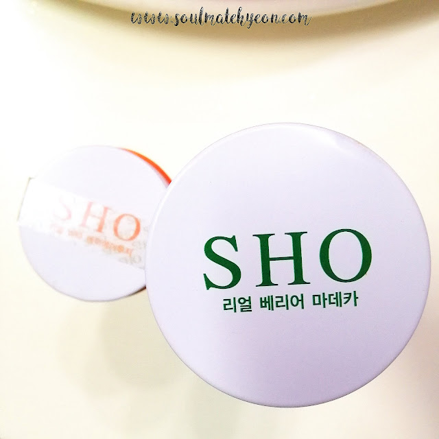 Review; SHO's Real Vita. AA2G Ampoule + Real Barrier Madeca Ampoule Mask