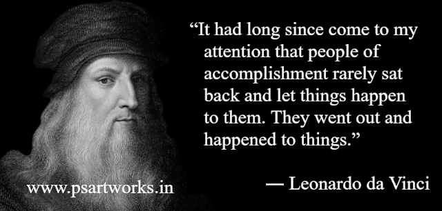 Motivational Quotes In English By Lionardo Da Vinci