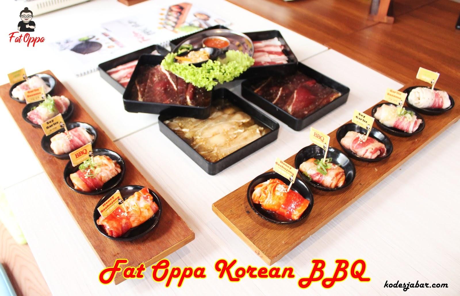 Korean BBQ Halal dan Murah di Fat Oppa Cimahi