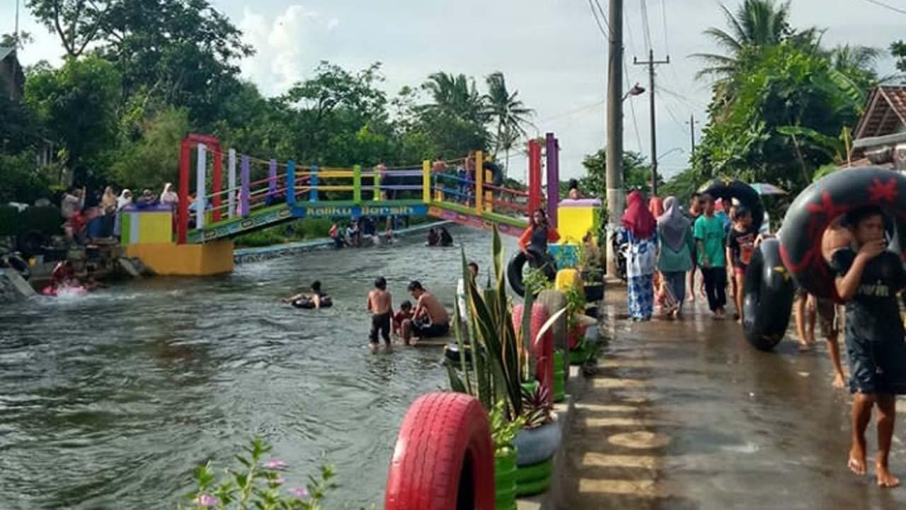 Beberapa Tempat Wisata Masih Tutup Wisata Kali Celo Mejagong Ramai Dikunjungi Wisatawan