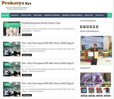 Media Pembelajaran Prakarya
