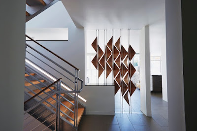 3D wooden room divider blinds for contemporary interiors