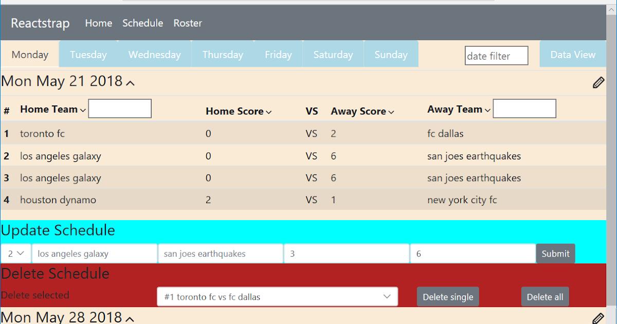 Chuanshuoge: react route reactstrap table form CRUD