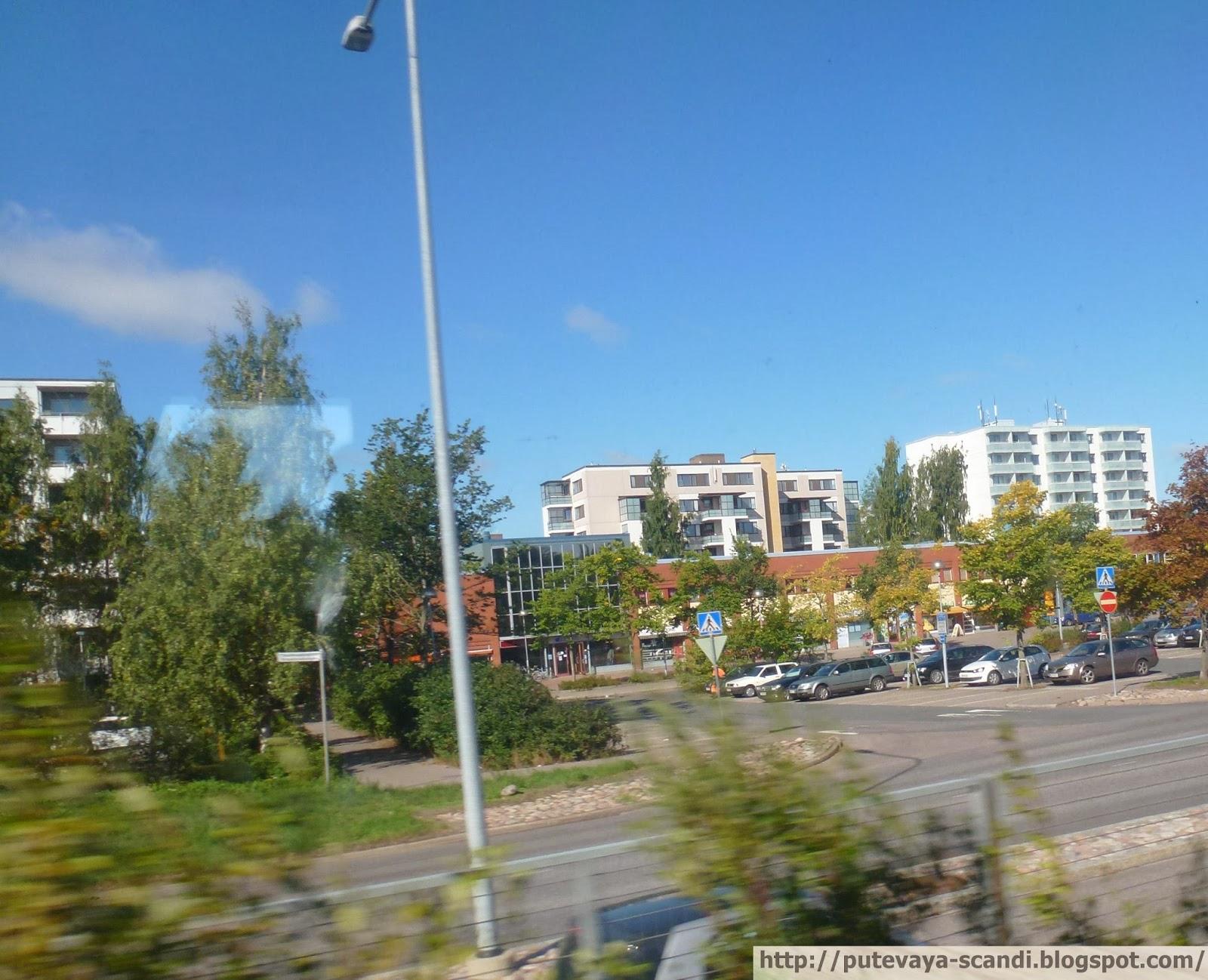 пригород Хельсинки