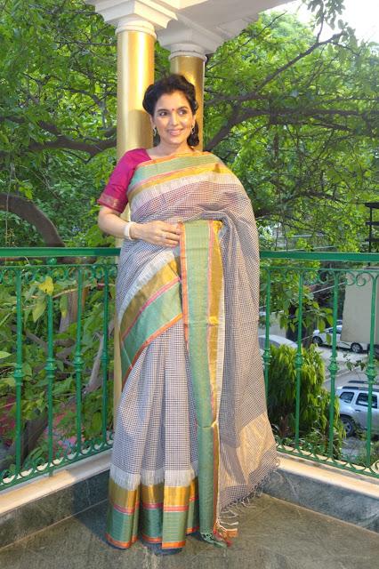Ponduru Khadi saree