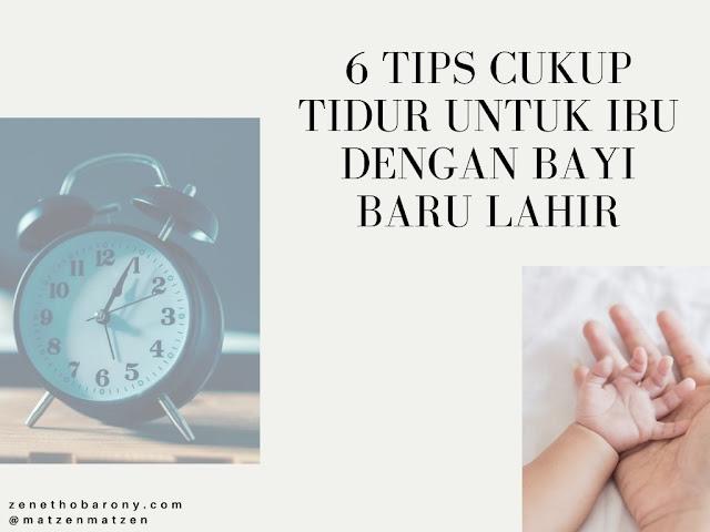 tips cukup tidur